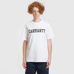 Мужская футболка Carhartt WIP College Graphic Print White/Camo Laurel фото- 3
