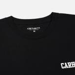 Мужская футболка Carhartt WIP College Script LT Black/White фото- 1