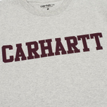 Мужская футболка Carhartt WIP College Snow Heather/Chianti фото- 3