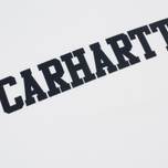 Мужская футболка Carhartt WIP College White/Navy фото- 2