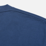 Мужская футболка Carhartt WIP Contrast Pocket Blue/Ash Heather фото- 3
