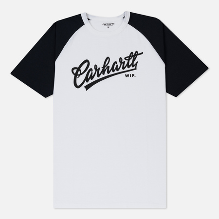 Мужская футболка Carhartt WIP Craft Script White/Dark Navy/Black