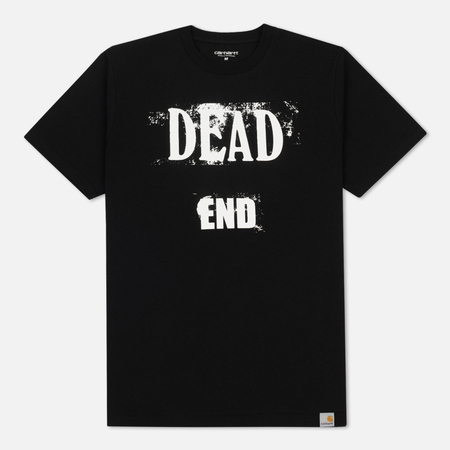 Мужская футболка Carhartt WIP Dead End Black/White