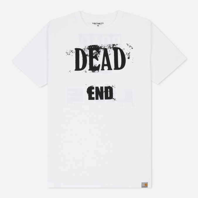 Мужская футболка Carhartt WIP Dead End White/Black