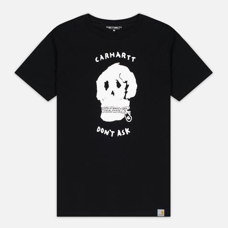 Мужская футболка Carhartt WIP Don't Ask Black/White