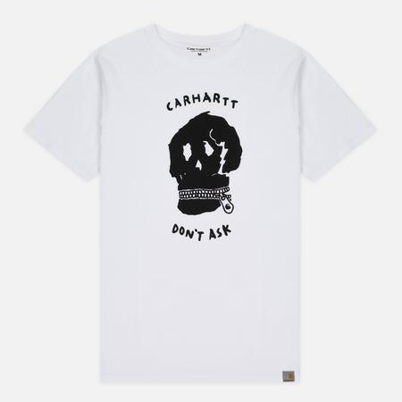 Мужская футболка Carhartt WIP Don't Ask White/Black