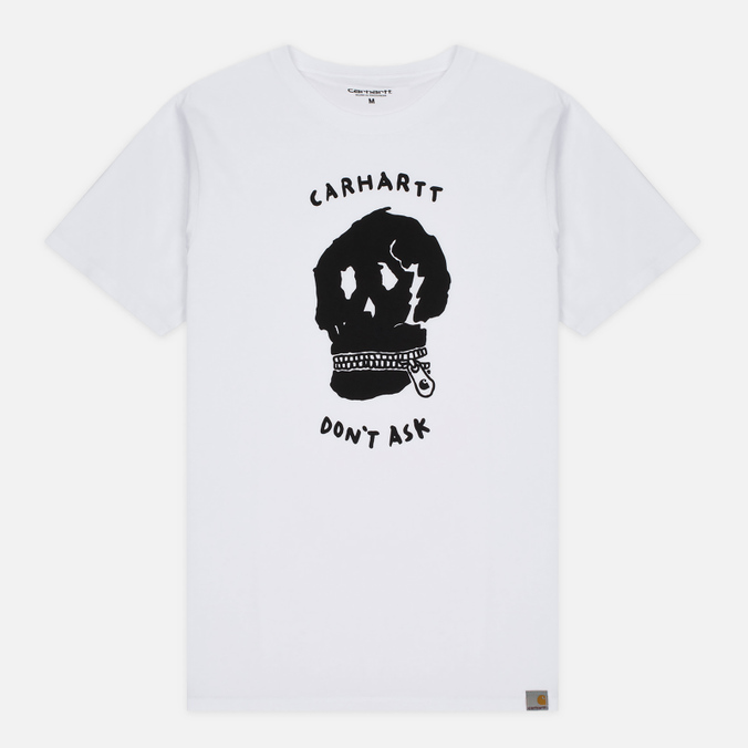 Мужская футболка Carhartt WIP Don't Ask White/Black