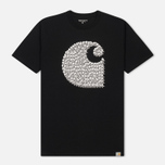 Мужская футболка Carhartt WIP Duck Swarm Black фото- 0