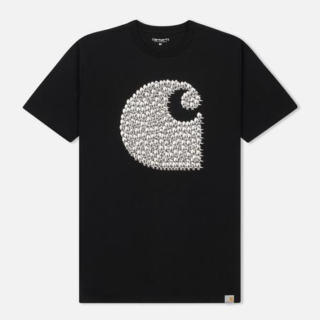 Мужская футболка Carhartt WIP Duck Swarm Black