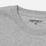 Мужская футболка Carhartt WIP Duckman Grey Heather фото- 1