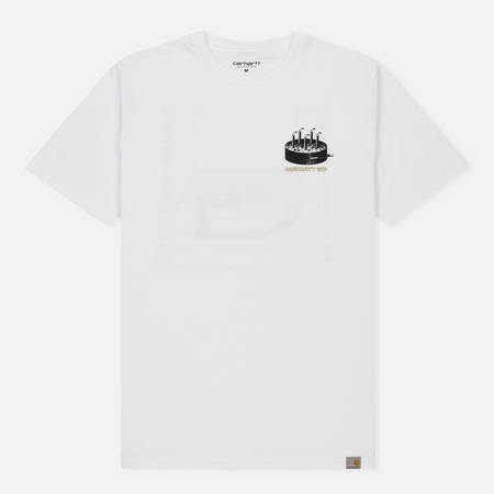 Мужская футболка Carhartt WIP False Pieties White