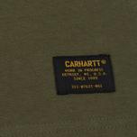Мужская футболка Carhartt WIP Military Rover Green фото- 2