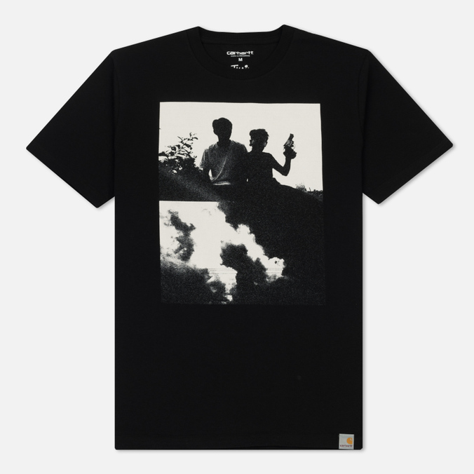 Мужская футболка Carhartt WIP Pistols Black/White