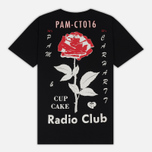 Мужская футболка Carhartt WIP x P.A.M. Radio Club L.A. Black фото- 3