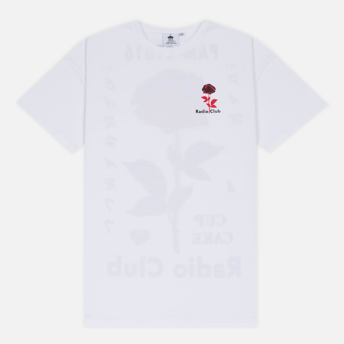 Мужская футболка Carhartt WIP x P.A.M. Radio Club L.A. White