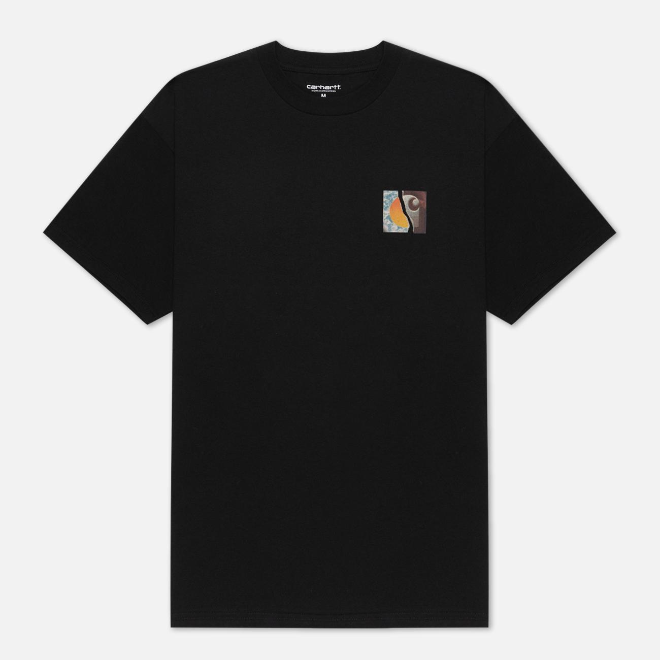 Мужская футболка Carhartt WIP S/S Backpages Black