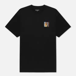 Мужская футболка Carhartt WIP S/S Backpages Black