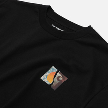 Мужская футболка Carhartt WIP S/S Backpages Black фото- 1