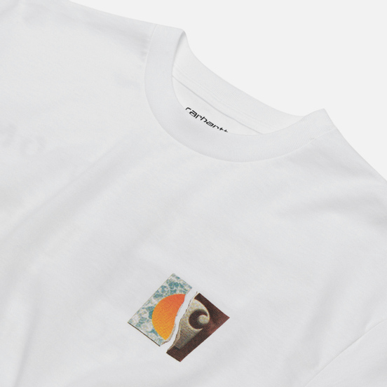 Мужская футболка Carhartt WIP S/S Backpages White