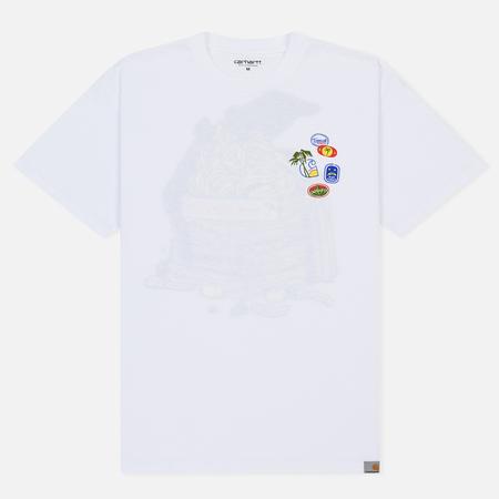 Мужская футболка Carhartt WIP S/S Bad Cargo White