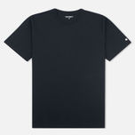 Мужская футболка Carhartt WIP S/S Base Black/White фото- 0