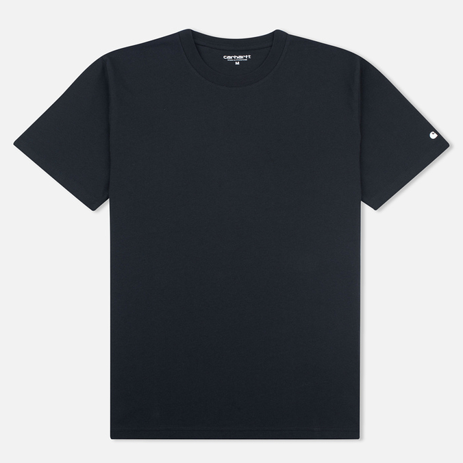 Мужская футболка Carhartt WIP S/S Base Black/White