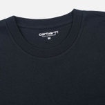Мужская футболка Carhartt WIP S/S Base Black/White фото- 1