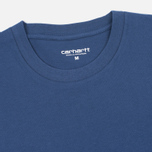 Мужская футболка Carhartt WIP S/S Base Blue/White фото- 1