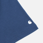 Мужская футболка Carhartt WIP S/S Base Blue/White фото- 3