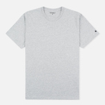 Мужская футболка Carhartt WIP S/S Base Grey Heather/Black фото- 0