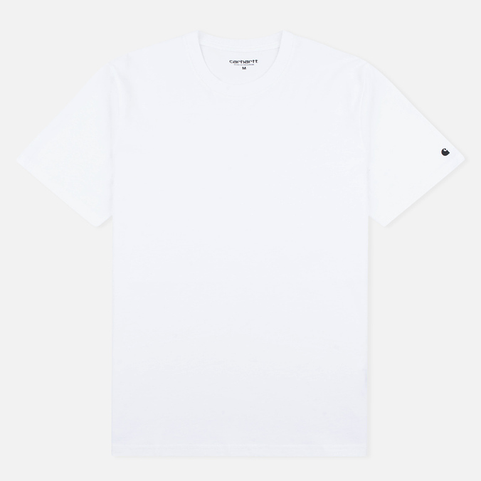 Мужская футболка Carhartt WIP S/S Base White/Black