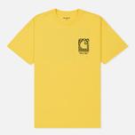 Мужская футболка Carhartt WIP S/S Body & Paint Primula/Black фото- 0