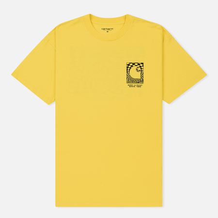 Мужская футболка Carhartt WIP S/S Body & Paint Primula/Black