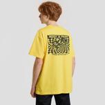 Мужская футболка Carhartt WIP S/S Body & Paint Primula/Black фото- 3