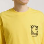 Мужская футболка Carhartt WIP S/S Body & Paint Primula/Black фото- 4