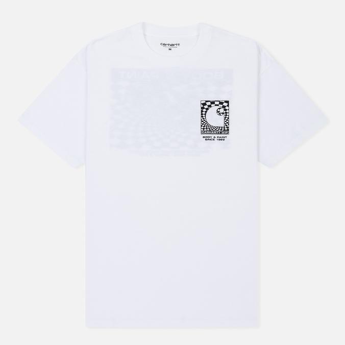Мужская футболка Carhartt WIP S/S Body & Paint White/Black