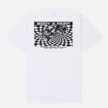 Мужская футболка Carhartt WIP S/S Body & Paint White/Black фото- 1