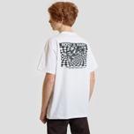 Мужская футболка Carhartt WIP S/S Body & Paint White/Black фото- 3