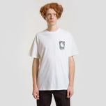 Мужская футболка Carhartt WIP S/S Body & Paint White/Black фото- 2
