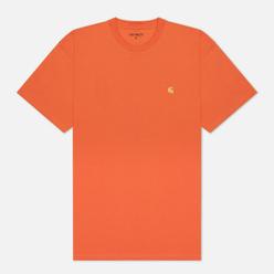 Мужская футболка Carhartt WIP S/S Chase Clockwork/Gold