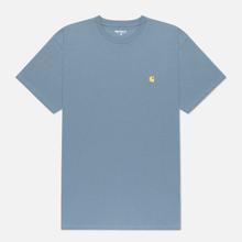 Мужская футболка Carhartt WIP S/S Chase Mossa/Gold фото- 0