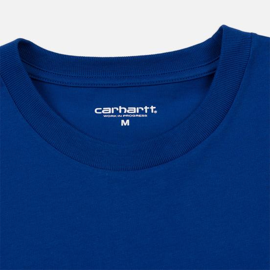 Мужская футболка Carhartt WIP S/S Chase Submarine/Gold