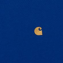 Мужская футболка Carhartt WIP S/S Chase Submarine/Gold фото- 2