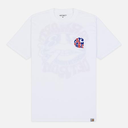 Мужская футболка Carhartt WIP S/S Clearwater White