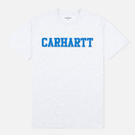 Мужская футболка Carhartt WIP S/S College Ash Heather/Blue фото- 0