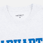 Мужская футболка Carhartt WIP S/S College Ash Heather/Blue фото- 1