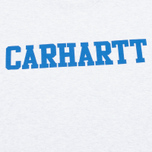 Мужская футболка Carhartt WIP S/S College Ash Heather/Blue фото- 2