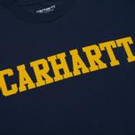 Мужская футболка Carhartt WIP S/S College Blue/Yellow фото- 2