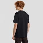 Мужская футболка Carhartt WIP S/S College Script Black/White фото- 2