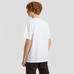 Мужская футболка Carhartt WIP S/S College Script White/Black фото- 2